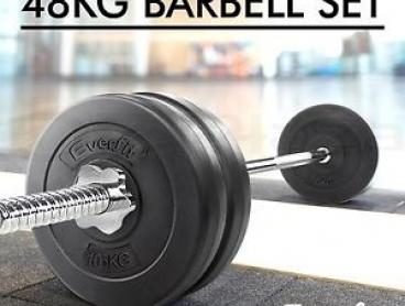 EVERFIT Barbell Weights Set