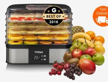 $49 for a Todo Stainless Steel Electric Food Dehydrator (Don't Pay $199)