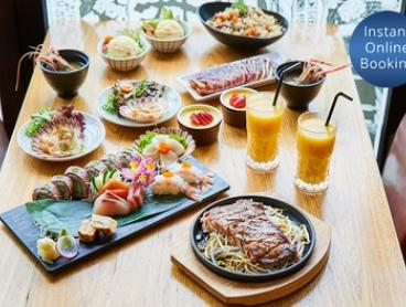 Eight-Course Dégustation with Sake for Two ($89) or Four People ($175) at Kanji Japanese Restaurant (Up to $411 Value)