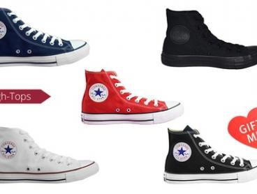 $59 for One Pair of Converse Chuck Taylor All-Star High-Tops (Don't Pay $100)