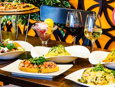 Authentic Italian Lunch or Dinner with Wine is $39 for Two People or $77 for Four People (Valued Up To $169)