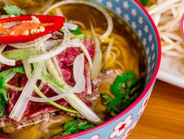 Three-Course Vietnamese Lunch or Dinner is $49 for Two People, $95 for Four People, or $139 for Six People. Includes a Glass of Wine Each (Valued Up To $294)