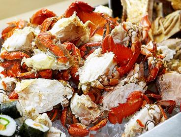 Saturday Night Seafood Buffet at the InterContinental with Full Access to the Wine Buffet: $69 for One Person, $136 for Two or $269 for Four (Valued Up To $392)