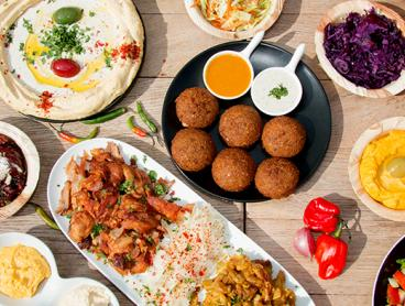 Authentic Lebanese Six-Course Banquet with Coffee and Free BYO! $39 for Two People or $75 for Four People (Valued Up To $180)
