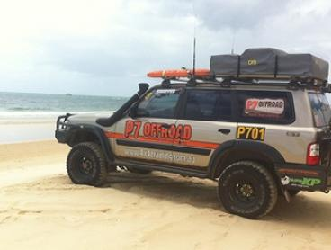 $175 (Plus Ferry and  Park Fees) Full-Day 4WD Beach Driving Training at Australian Offroad Academy (Up to $380 Value)