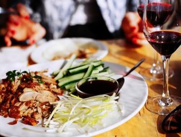 Chinese Banquet with Wine for Two (from $59) or Four People (from $115) at Tang Dynasty Restaurant (From $81 Value)