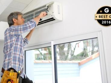 Air Conditioner Clean - Split System ($67) or Ducted System ($97) with Air Con Clean, Brisbane Metro (Up to $379 Value)