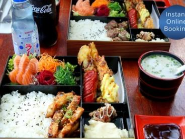 Japanese Lunch for Two ($24), Four ($48) or Six People ($72) at Claire's Gallery (Up to $144 Value)