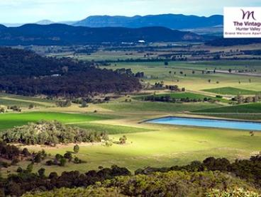 Hunter Valley: 1-3 Nights in a Two-Bedroom Apartment for Four Adults and Two Children + Wine at The Grand Mercure
