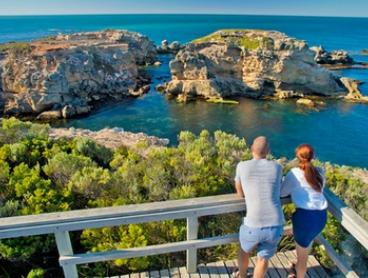 Port MacDonnell: Two or Three-Night Beachside Package Stay with a Welcome Drink and Late Checkout at The Customs House