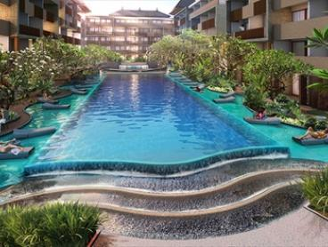 Bali, Kuta: From $156 for a Three-Night Resort Getaway with Breakfast and Airport Transfer at Swiss-Belhotel Tuban Kuta