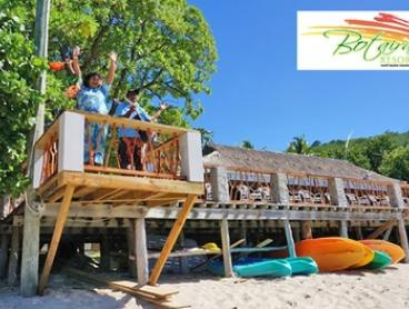 Fiji: Five, or Seven-Night Beachfront Escape with a Bottle of Wine and a Private Lobster Dinner at Botaira Beach Resort