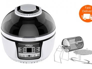 $139 for a Todo 10L Family Size 1400W Multifunction Convection Oven Air Fryer (Don't Pay $699)