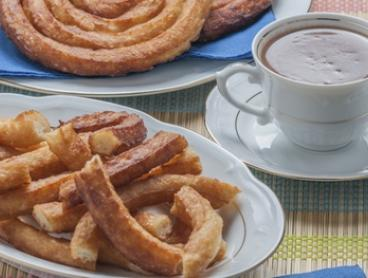 Spanish Hot Chocolate with Two Churros at Spanish Doughnuts El Churro Cafe - Hawthorn (Up to $10.40 Value)