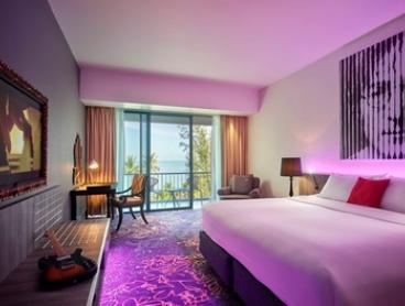 Penang: 2 or 3 Nights for Two with Breakfast, One-Way Airport Transfer, Welcome Drink and Extras at 4* Hard Rock Hotel