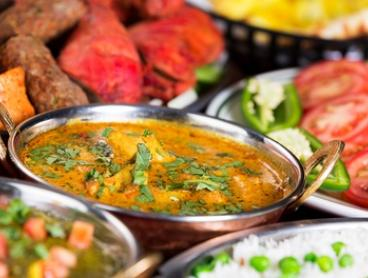 3-Course Indian with Wine for Two ($39), Four ($75) or Six ($109) at Amrutha Authentic Indian Cuisine (Up to $294 Value)