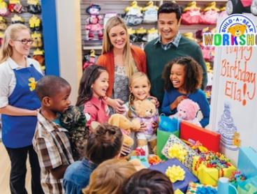 $75 for a Build-A-Party Celebration at Build-A-Bear Workshop for Eight Guests, 19 Locations Nationwide ($128 Value)