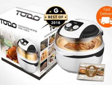 $99.95 for a TODO 1300W 10L Multifunction Air Fryer with Rotisserie (Don't Pay $449)
