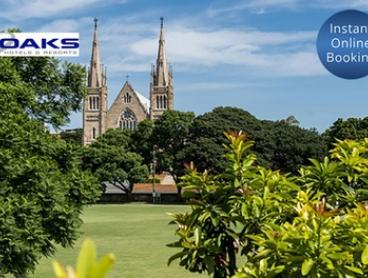 Ipswich: 2 Nights for Two People at Oaks Aspire Apartments