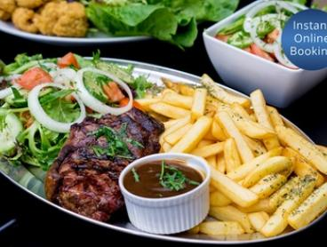 $29 for a Rump Steak Dinner for Two or $149 for Mixed Grill and Ribs for Six People at Harry's Grill (Up to $260 Value)