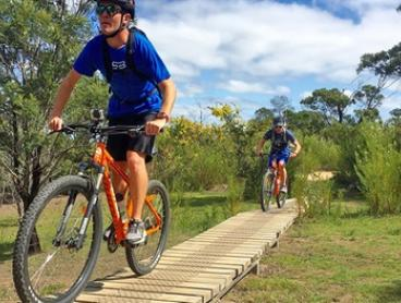 You Yangs Park Mountain Bike Day Tour + Lunch for One ($65) or Two People ($125) with Autopia Tours (Up to $270 Value)