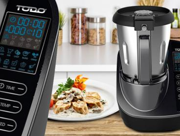 Make Cooking Easier with this High Power Thermo Multifunctional Cooker! This All in One Cooker Performs So Many Kitchen Functions in One Such as Blending, Mixing, Steaming, Pressure Cooking and More. Just Pop Ingredients In and Walk Away! Only $299