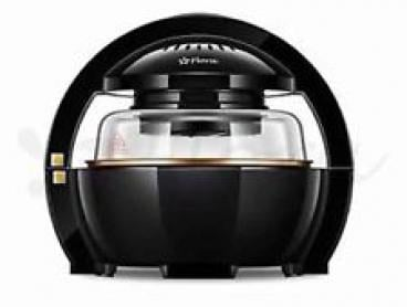 Black 1300w 13L Multifuctional LCD Air Fryer Healthy Cooker Low Fat Oil Free