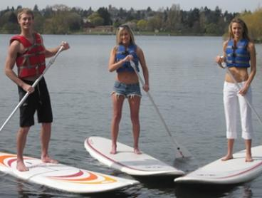 Two-Hour Paddle Board ($25), or Single ($25) or Double Kayak Hire ($40) from Annandale Boat Hire (Up to $80 Value)