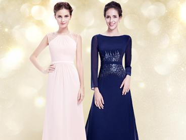 Basic Evening Dresses for Less