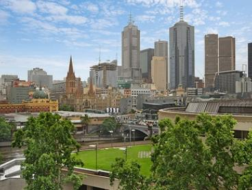 Melbourne CBD: From $399 for an Apartment Stay with Wine and Breakfast for up to Four People at 28 Southgate Apartments