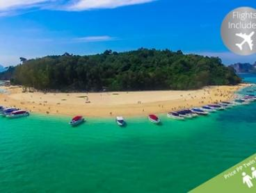 Phuket and Phi Phi Island: From $989 Per Person for a Nine-Night Thailand Escape with Flights and Breakfast