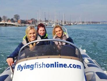 $189 (Plus $50PP for Cert + Insurance) for a Full-Day Boat License Course for One Person with Flying Fish ($395 Value)