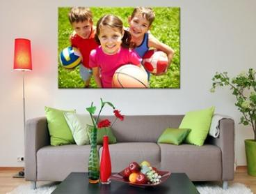 From $14 for a Personalised Canvas Print in Choice of Size and Style, Redeemable Online (Don't Pay Up to $299)