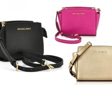 $189 for a Michael Kors Selma Mini Saffiano Leather Crossbody