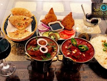 3-Course Authentic Indian Feast