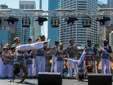 Capoeira - From $9 for a Kids Class or From $11 for an Adults Class at Capoeira Topazio, Surry Hills (From to $20 Value)