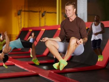 From $15 for a Jump Pass at Sky High Indoor Trampoline Park, Chullora ($28 Value)