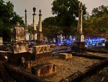 South Brisbane Cemetery Ghost Tour for One ($17), Two ($33) or Four People ($65) with Ghost Tours (Up to $120 Value)