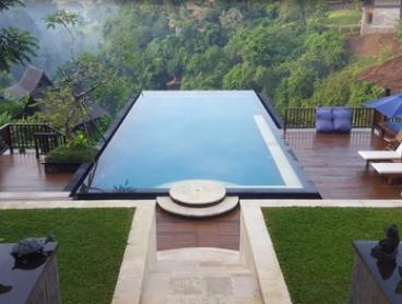 Bali, Ubud: Four or Five-Night Luxury Riverside Retreat with Butler Service, Breakfast and Massage at Amori Villas