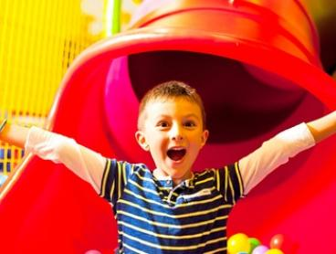 Indoor Play Centre Entry for One ($9), Two ($17), Three ($33) or Four Children ($49) at Wizzy World (Up to $96 Value)
