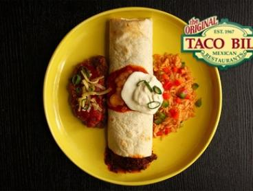 Burrito and Margarita for One ($12), Two ($22) or Four People ($42) at Taco Bill - Keilor Downs (Up to $100 Value)