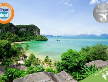 Thailand: From $949 Per Person for 5 Nights at Paradise Koh Yao and 5 Nights at Cape Sienna with Jetstar Flights