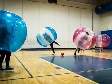 30min ($49), 60min ($89) or 90 min ($135) Bubble Soccer or Activity Session at Insportz Northcote (Up to $300 Value)