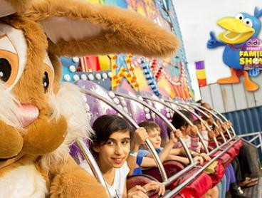 The Dodo Sydney Family Show: 4Hrs of Unlimited Rides for One ($19) or Four People ($64) at Moore Park (Up to $110 Value)