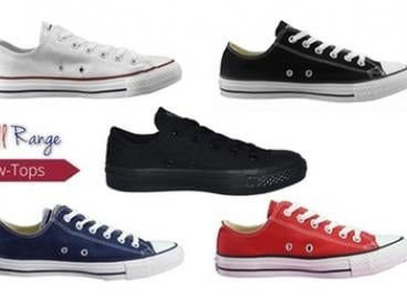 $59 for One Pair of Converse Chuck Taylor All-Star Low-Tops in Choice of Colours (Don't Pay $100)