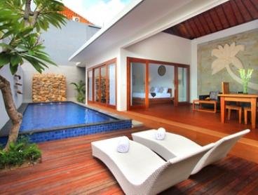Kerobokan: 2-7 Night Private Pool Villa Stay with Daily Breakfast and Airport Transfer at Bali Nyuh Gading Villas