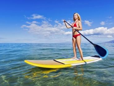 One-Hour Rental of One ($15) or Two Stand-Up Paddle Boards ($29) at Balmoral Water Sports Center (Up to $60 Value)