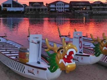 Dragon Boat Racing - Five ($10) or Ten One-Hour Lessons ($19) with ACDC Dragon Fire (Up to $120 Value)