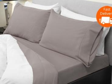 From $29 for a 1000TC Bamboo Blend Sheet Set in Choice of Colour (Don't Pay up to $249)