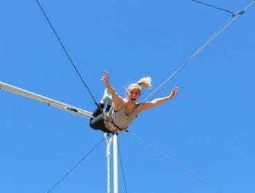 $49 for a Two-Hour Outdoor Flying Trapeze Class at Sydney Trapeze School ($75 Value)